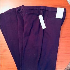 Coldwater Creek Purple dress pants